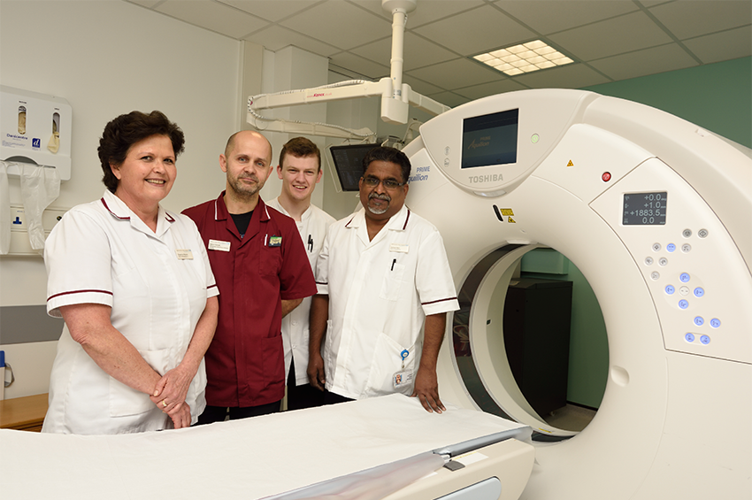 Members of our radiology team