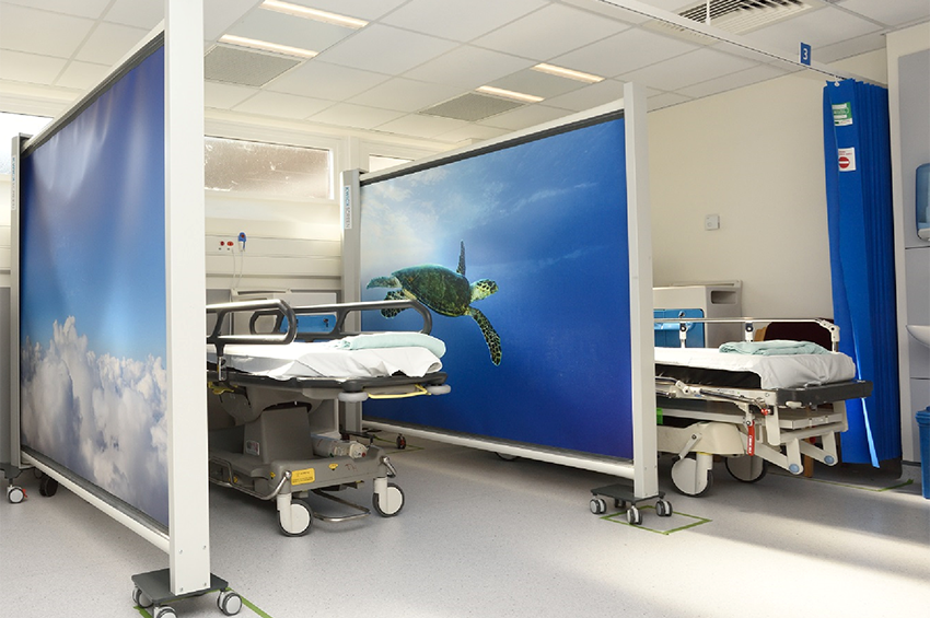 The interventional radiology suite