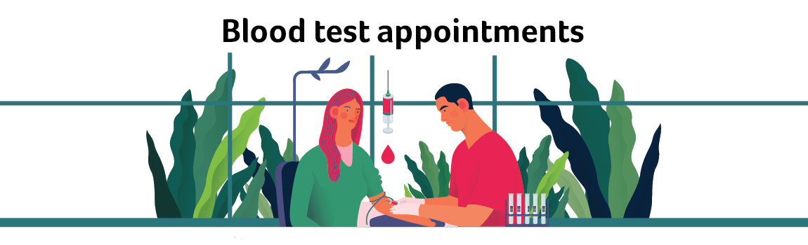 Blood test appointments