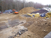 Taken during our Car Park Build at Saint Peters Hospital