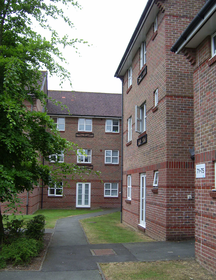 Greenlands accommodation on the Saint Peter's Hospital site