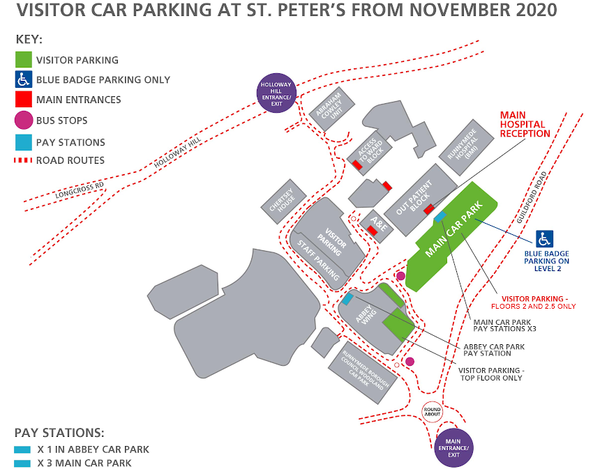 Car Parking at St Peter's