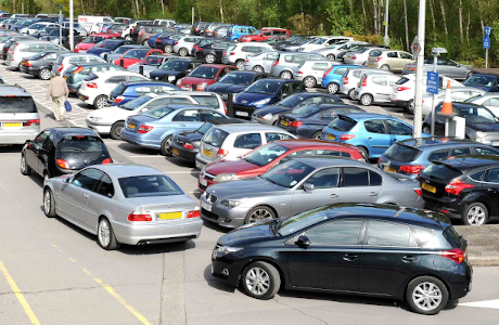 Our Outpatient car park at St Peter's