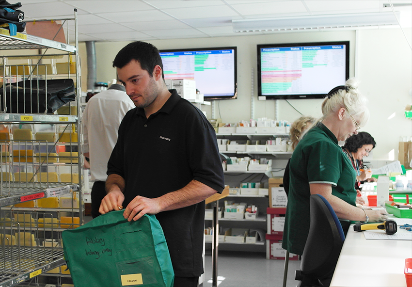Some members of the Pharmacy Team