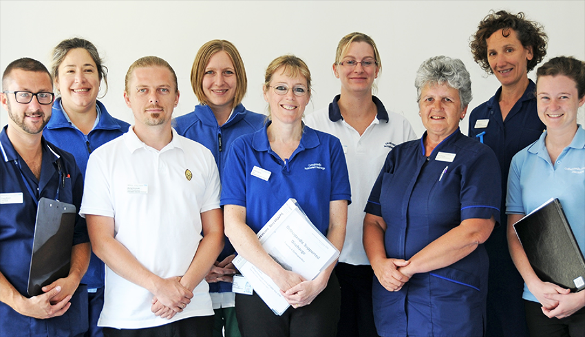 Our Early Supported Discharge Team