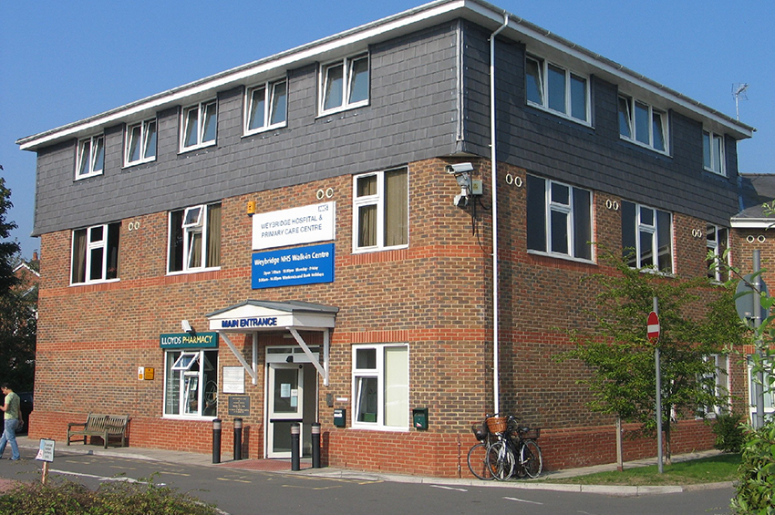 An archive picture of Weybridge Walk-in Centre