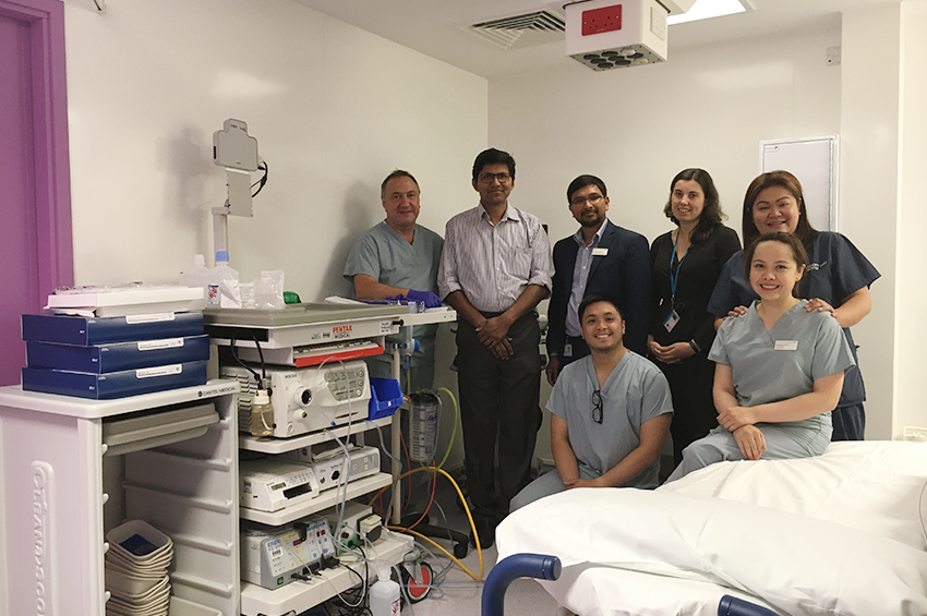 The endoscopy team