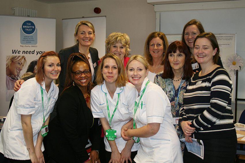 Staff at this year's Wellbeing Event
