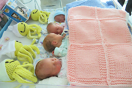 Quads born at St Peter's Hospital Maternity Unit