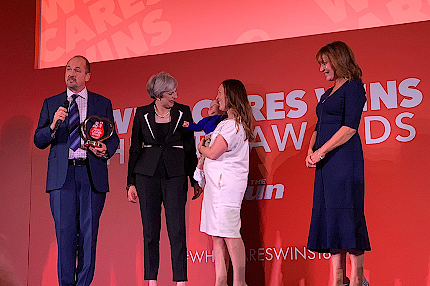 Dr Peter Reynolds wins national Who Cares Wins Health Award