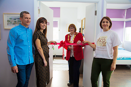 Mayor opens refurbished parents accommodation on NICU